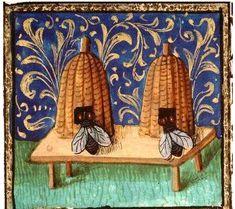 Medieval Bee Keeping