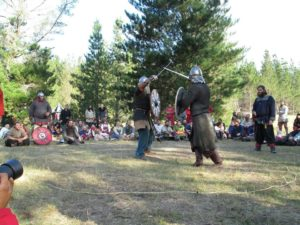 Holmgang tournament Abbey Medeival festival