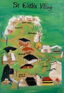 Painting of the St Edith's Village