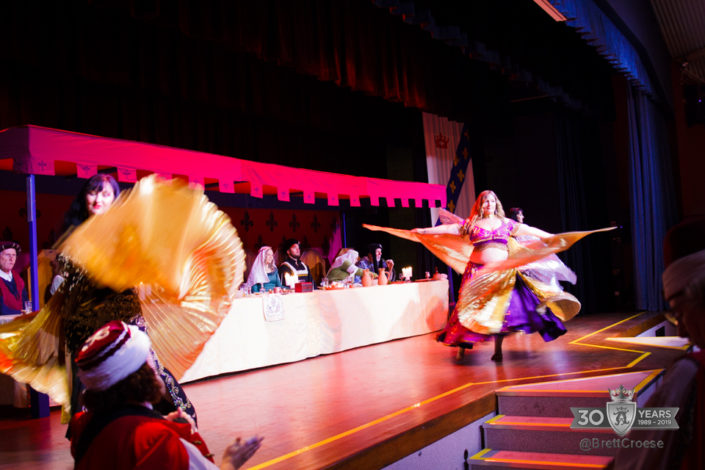 Turkish dancers performing on stage